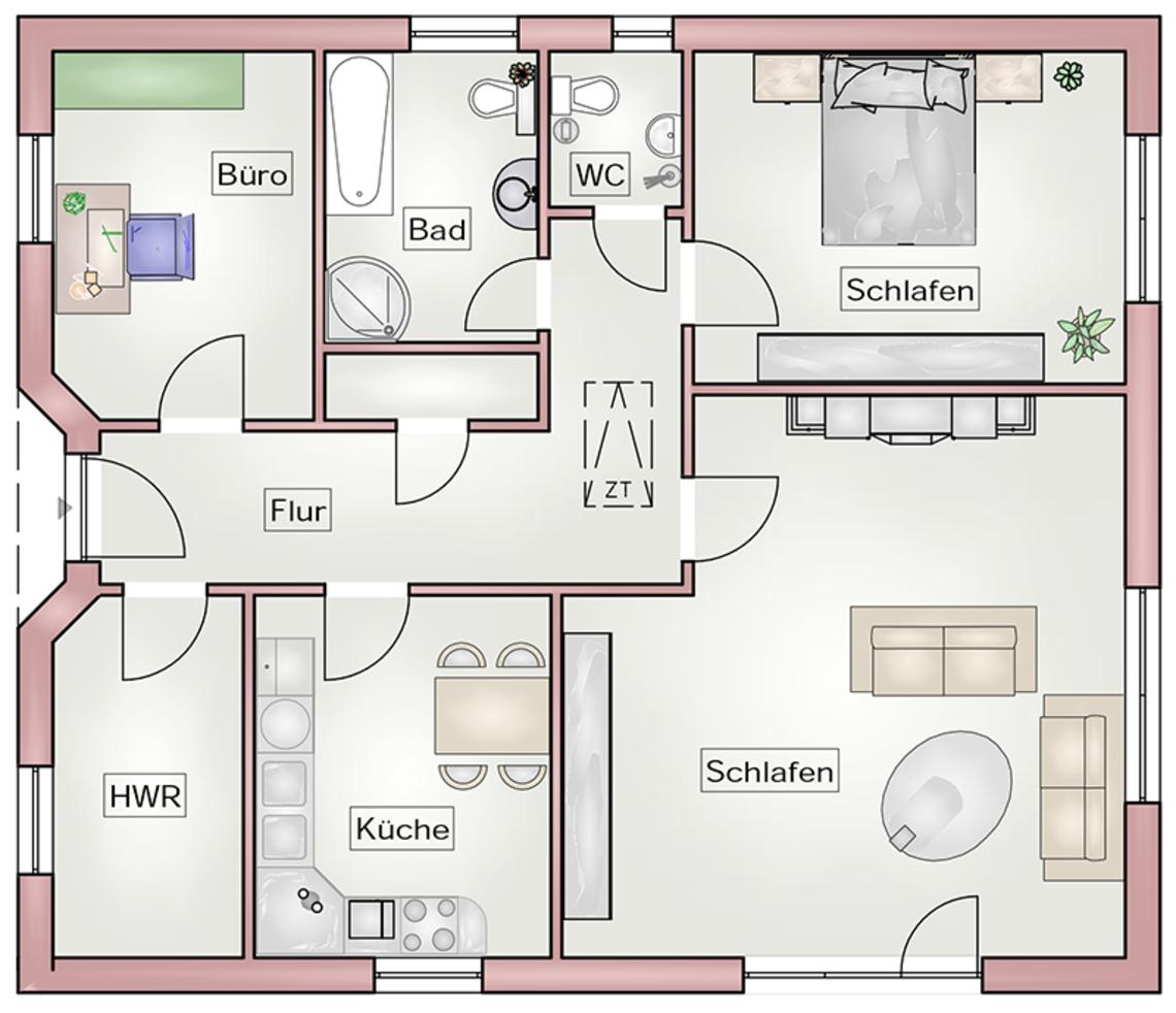 barrierefreies wohnen d a s haus. Black Bedroom Furniture Sets. Home Design Ideas